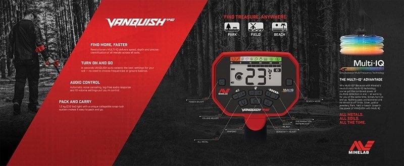 minelab vanquish 440 özellikler