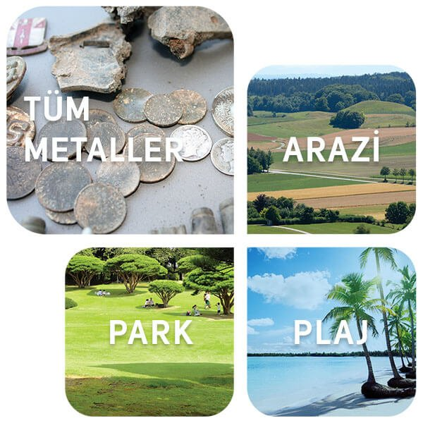 Simplex Arama Modları Park Plaj Arazi Tüm Metaller